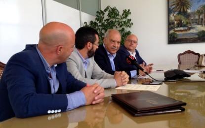 Reunión entre técnicos de Zona Franca y del Ayuntamiento para el desarrollo del centro de negocios