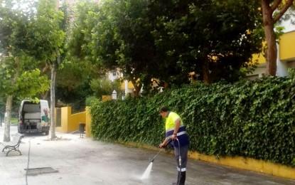 El mantenimiento y la limpieza de colegios, prioridad del Ayuntamiento de cara a los planes de empleo