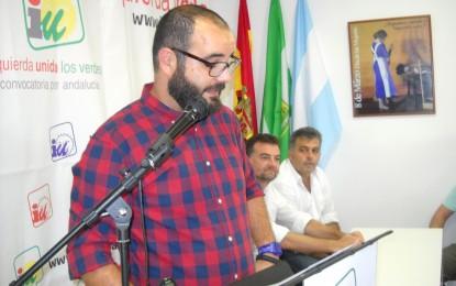 Para IU el alcalde Franco es «fuerte con los débiles y sumiso con los poderosos»