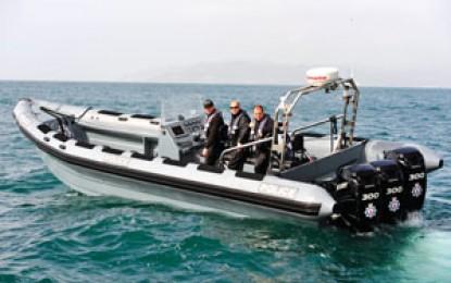 La RGP coopera con la Guardia Civil en la persecución de una moto acuática con narcotraficantes