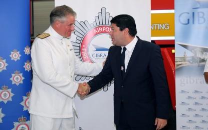 Transferido otro servicio del Ministerio de Defensa al Gobierno de Gibraltar