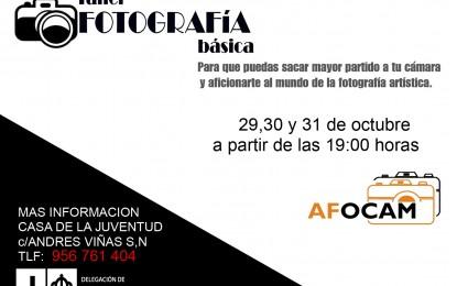 Juventud y Afocam ofrecen un taller gratuito de iniciación a la fotografía