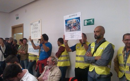 SPLL pide a Franco una reunión para que les informe y recuerda a Ceferina Peño que es una transfuga