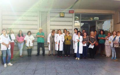 CCOO denuncia la situación de las instalaciones del servicio de urgencias de Los Junquillos