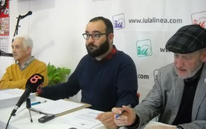 IU se pregunta porqué Juan Franco no fiscaliza la gestión del servicio que da Aqualia