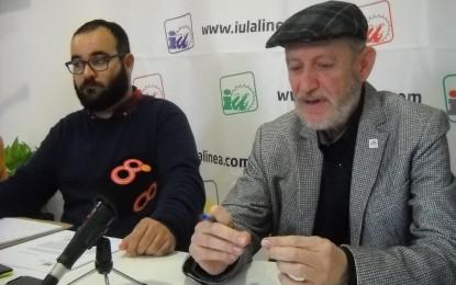 IU La Línea sigue exigiendo a Franco que retire las tuberías de fibrocemento