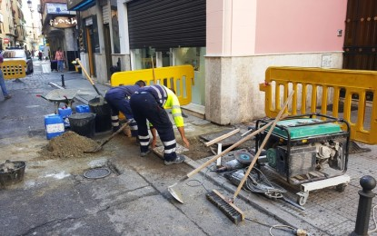 Infraestructuras anuncia el reinicio de las obras de instalación de  nuevos contenedores soterrados entre las calles Isabel La Católica y San Pablo