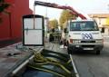El consorcio de transportes instala dos nuevas marquesinas de autobús en La Línea