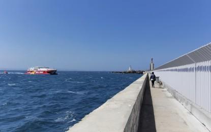 La Autoridad Portuaria abre mañana al público el acceso peatonal a la Punta del Santo del Puerto de Tarifa