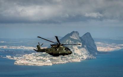 Gibraltar es el emplazamiento ideal para ejercicios militares aéreo-anfibios