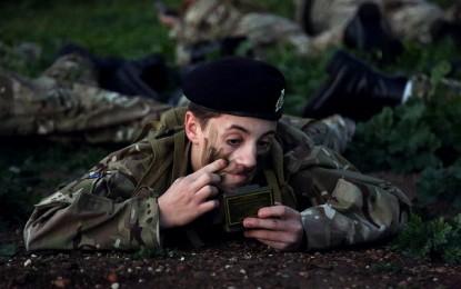 Incorporación de nuevos cadetes para The Royal Gibraltar Regiment
