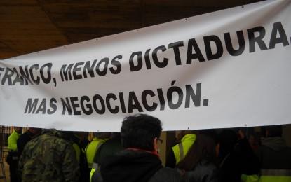 Nuevo día de protesta sindical en la puerta del Ayuntamiento