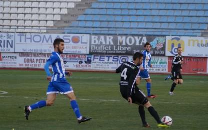 Un gol de Juampe le da triunfo a la Balona ante La Hoya Lorca (0-1)