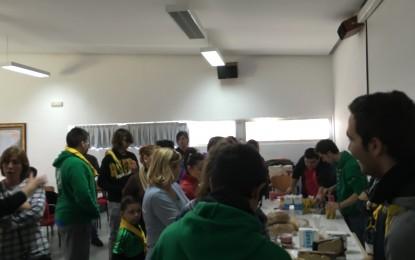 El Grupo Scout Ítaca ha celebrado su Asamblea extraordinaria de socios coincidiendo con su I Desayuno Andaluz por el Día de Andalucía