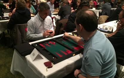 El Ministro de Educación promociona el Campeonato de Backgammon de Gibraltar en Copenhague