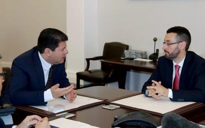 Fabian Picardo y Juan Franco esperan concretar proyectos conjuntos en pocos meses