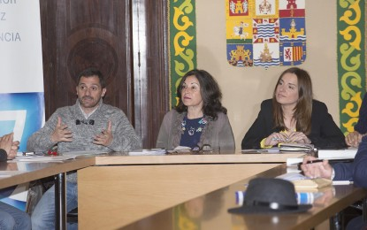 La Diputación analiza proyectos eficientes energéticamente con seis municipios