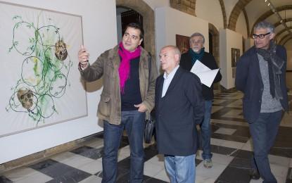 'Lo que la mirada atrapa', un pellizco en el alma que busca, en el Claustro de Exposiciones del Palacio Provincial