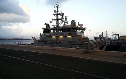 El HMC Protector hará escala en Gibraltar
