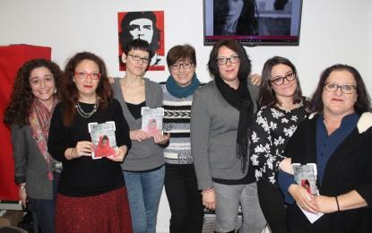 Acto cultural del Área de la Mujer de IU La Línea