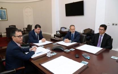Ascteg valora de forma positiva la visita de Salvador de la Encina a Gibraltar