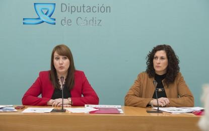 Diputación lleva actividades a 47 localidades y homenajeará a mujeres gaditanas con motivo del 8 de marzo