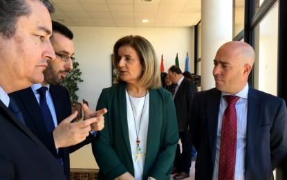 Fátima Báñez anuncia la inclusión de la ciudad en los proyectos ITI de empleo y formación de Cádiz
