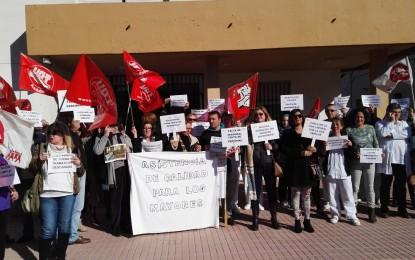 Helenio Lucas Fernández y el CSIF demandan ahora la construcción de la nueva residencia de ancianos por parte de Diputación