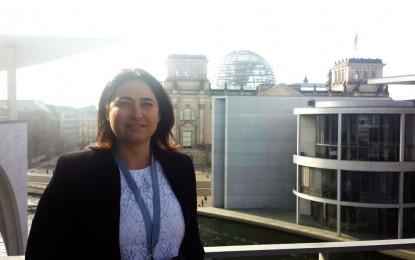 La ministra Sacramento asiste a la Conferencia Parlamentaria Internacional sobre la lucha contra el antisemitismo