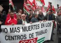 CCOO moviliza a sus delegados para protestar por los accidentes laborales