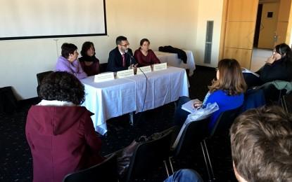 La experiencia de otros lugares en la elaboración de presupuestos municipales participativos ha centrado la jornada desarrollada en el Palacio de Congresos