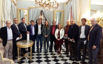 Irene García recibe al presidente del Consejo Provincial de Larache y reconoce la oportunidad de establecer nuevos programas de cooperación