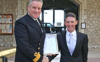 Ceremonia de premios de las fuerzas británicas de Gibraltar