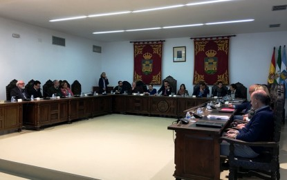 La corporación municipal aprueba una operación de préstamo de 19 millones de euros en un pleno extraordinario y urgente