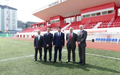 Inaugurado el nuevo anexo (II) de deportes en Gibraltar