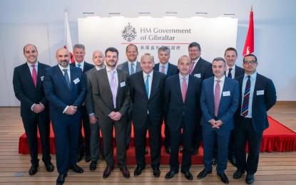 La Misión Comercial a Asia toca a su fin con el desayuno-seminario sobre fondos del Día de Gibraltar en Hong Kong