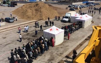 Un buque con matrícula gibraltareña rescata a 235 refugiados