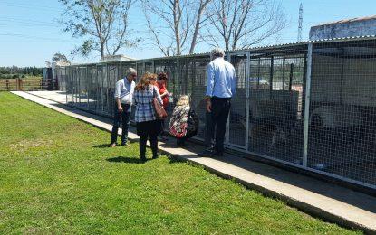 La concejal de Sanidad, satisfecha con las instalaciones de la empresa concesionaria del servicio de recogida de animales