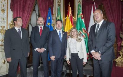 Una comisión técnica estudiará vías de colaboración entre la Diputación y Gibraltar