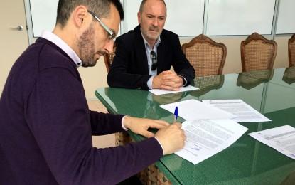 Firmado el contrato para la ejecución de obras de asfaltado en diferentes calles de la ciudad