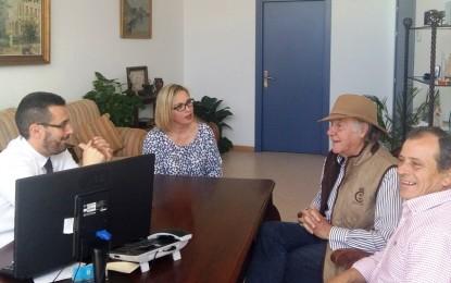 El alcalde respalda el homenaje que organiza miguelete al torero de plata linense Manuel Guirado