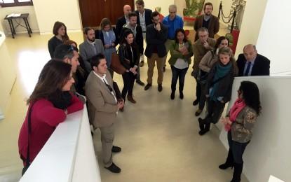 El alcalde participará en la visita guiada al Museo Cruz Herrera durante la jornada sobre gestión cultural que la UIMP celebra mañana
