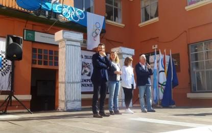 El alcalde, en la clausura de la olimpiada del Colegio Velada