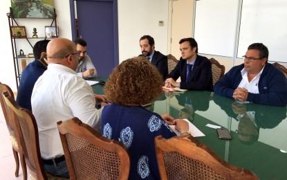 Isolux-Corsán y el Ayuntamiento repasan asuntos de interés mutuo