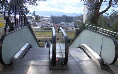 El Gobierno de Gibraltar tomará acciones sobre el vandalismo en las escaleras mecánicas de Lane Park