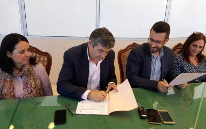 Ayuntamiento, Mancomunidad y Patrimonio Histórico Linense suscriben un convenio para la rehabilitación de Torrenueva