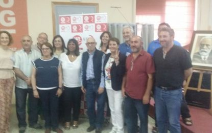 Cuarto mandato para José Porras Naranjo al frente de la FeSP Ugt Cádiz