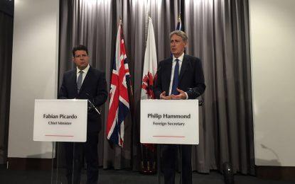 Declaración conjunta del Ministro de Asuntos Exteriores británico y el Ministro Principal de Gibraltar, Fabian Picardo