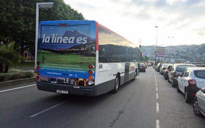 Autobuses de Vitoria, Segovia y Pontevedra, lucen publicidad de La Línea