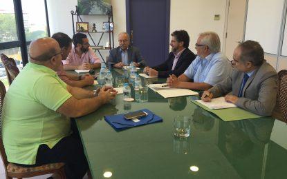 APBA y Ayuntamiento repasan el estado de los proyectos portuarios en La Línea